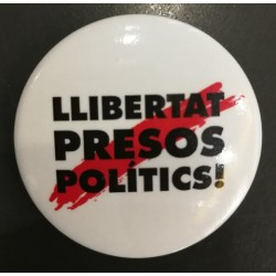 Xapa Llibertat presos politics