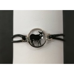 Bracelet with Catalan donkey