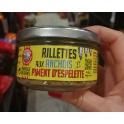 Rillettes aux anchois et piment d'Espelette Maison Roque Collioure
