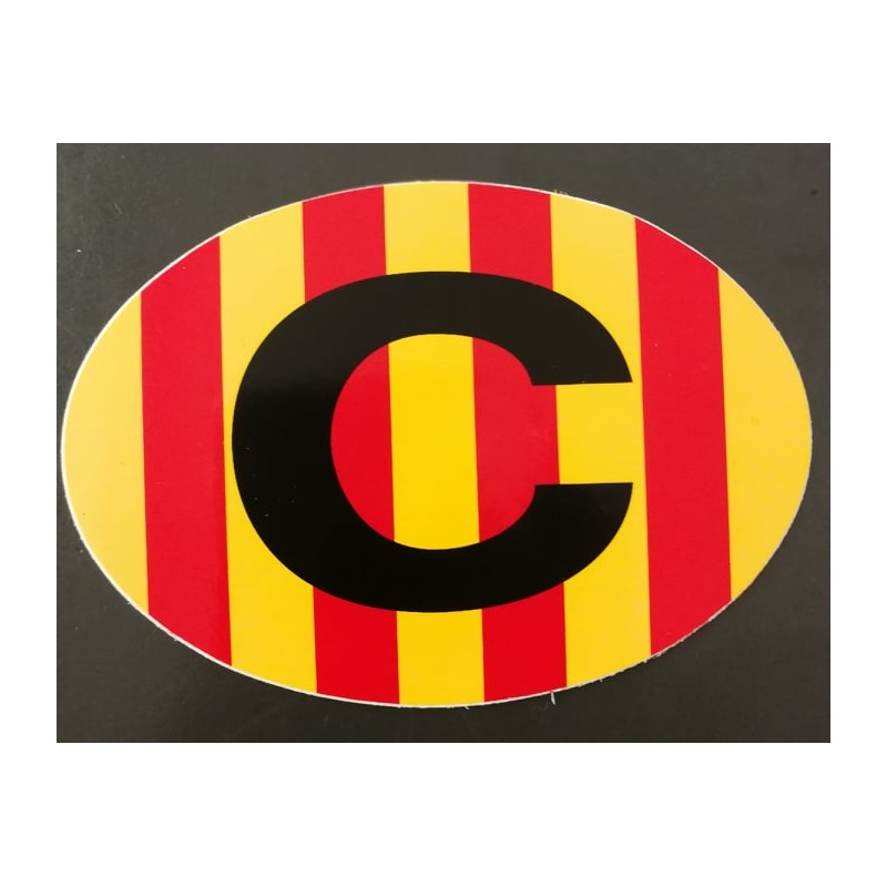 Catalan C sticker