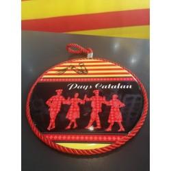 Dessous de plat rond Pays Catalan