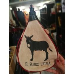 Borratxa amb el burro català