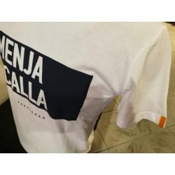 Tee-shirt Père Pigne Menja i calla blanc
