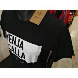 Tee-shirt Père Pigne Menja i calla black