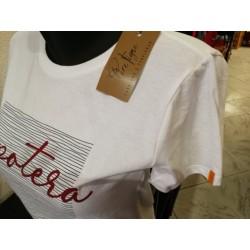 Tee-shirt Père Pigne Xipotera blanc