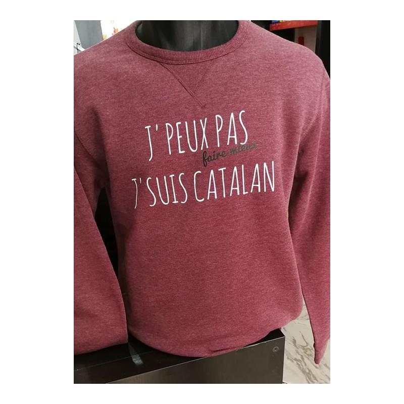 Dessuadora J'peux pas faire mieux je suis catalan bordeu