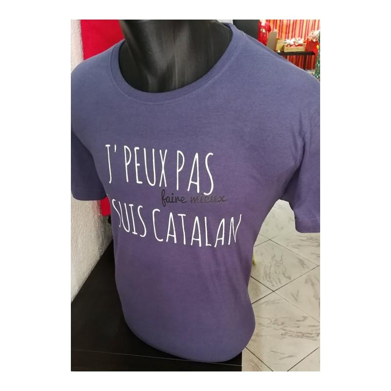 Tee-shirt J'peux pas faire mieux suis catalan