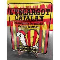 Plaque plexiglass escargot catalan