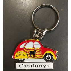 Key ring catalan 2CV