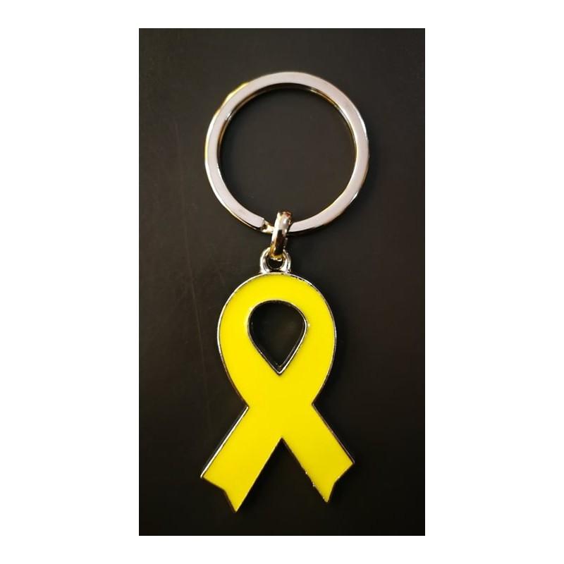 Porte-clés llaç groc