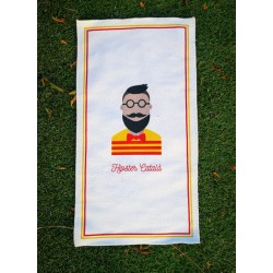 Serviette d'Invité Hipster Català