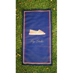 Guest towel catalan shoes blue