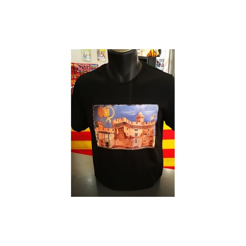Samarreta negra del Castellet Perpinyà