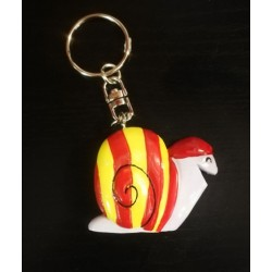 Key ring catalan snail