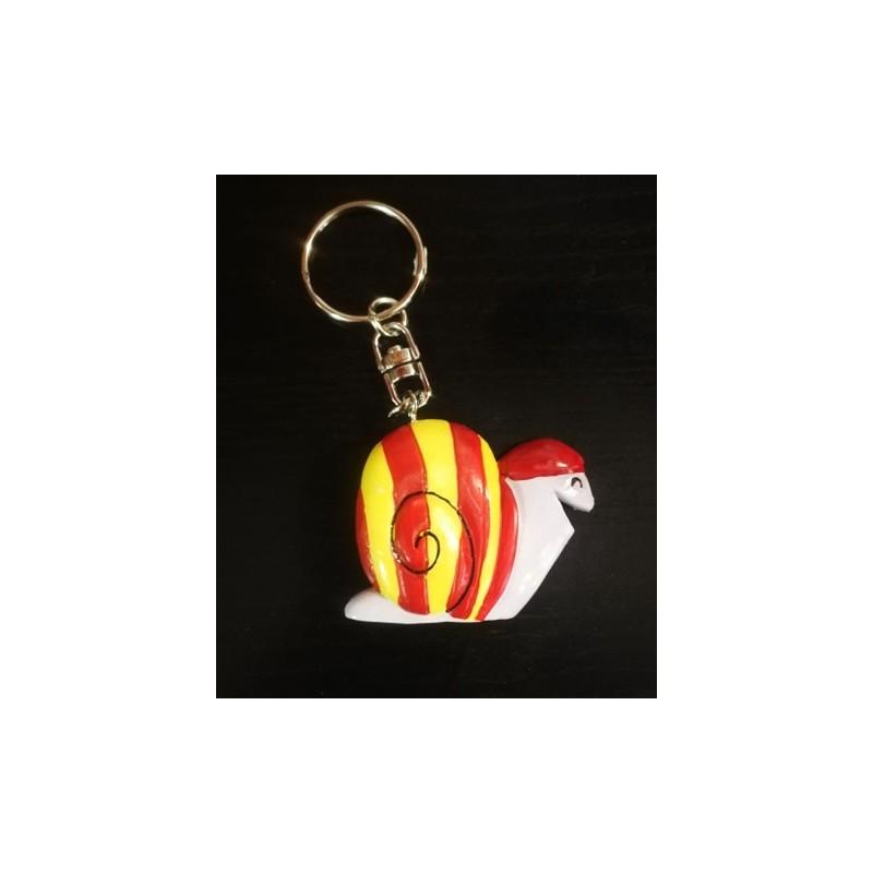 Key ring catalan snail