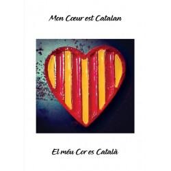 Cartell el meu cor és català