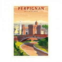 cartell Perpinyà la Catalana