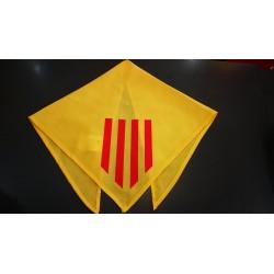 Bandana catalan avec les 4 barres