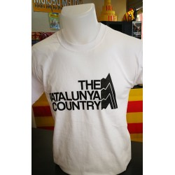 Tee-shirt blanc The Catalunya Country