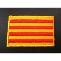 Patch hot-melt Catalan flag