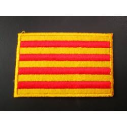 Patch hot-melt Catalan flag