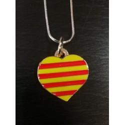 Collier coeur catalan