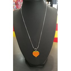 Collier cœur catalan