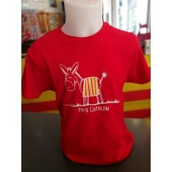 Tee-shirt enfant âne Pays...