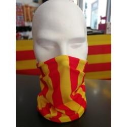 Tour de cou catalan drapeau catalan