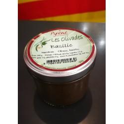 Les Olivades à l'olive noire et basilic