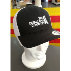 Casquette noire et blanche The Catalunya Country