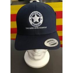 Gorra blava Catalunya...