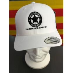 Gorra blanca Catalunya...