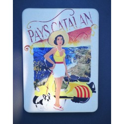 Miroir de poche Pays catalan