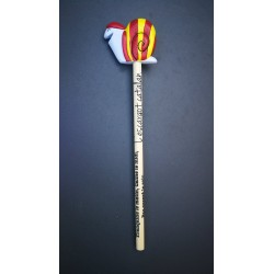 Pencil with catalan snail