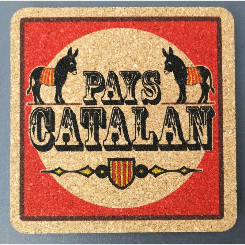 Dessous de verre en liège Pays Catalan