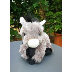 Plush catalan donkey