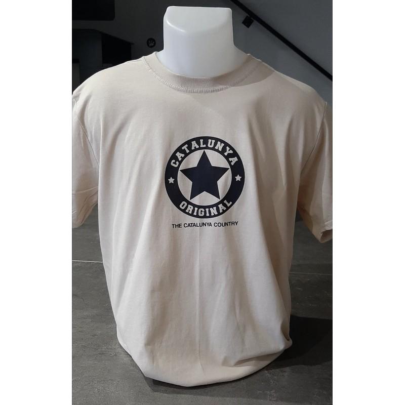Tee-shirt sable Catalunya Original de The Catalunya Country