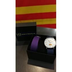 Rellotge estelada BLANC 36mm