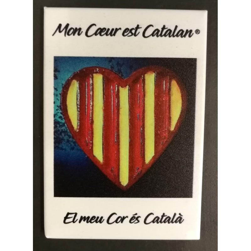 Magnet Mon coeur est catalan