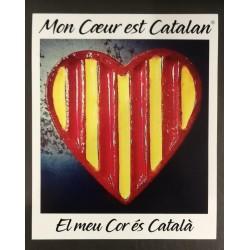 Adhesiu El meu cor és català