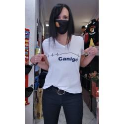 Tee-shirt woman Canigó white