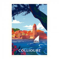 Collioure Poster
