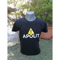 Samarreta Apolit negra