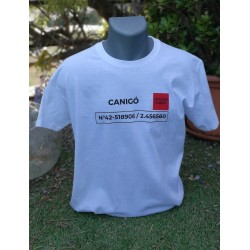 Tee-shirt blanc Canigó The Catalunya Country