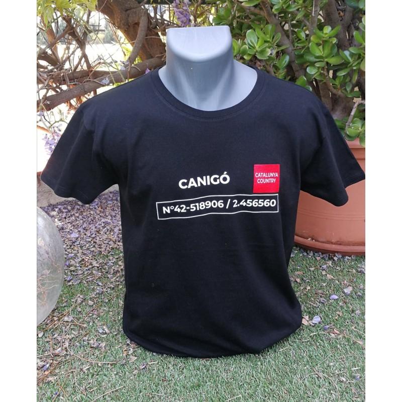 Samarreta negra Canigó The Catalunya Country