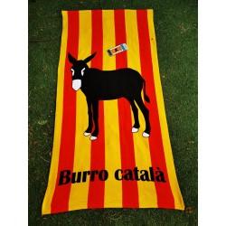 Catalan beach towel with...