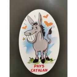 Sticker catalan donkey