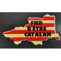 Autocollant Fier d'être catalan