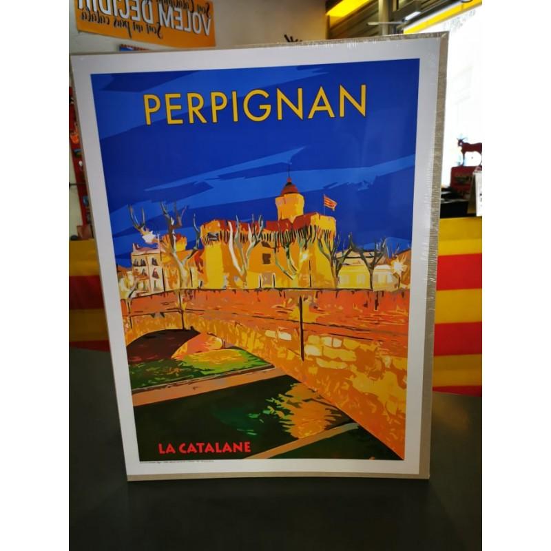poster of Perpignan 30x40cm
